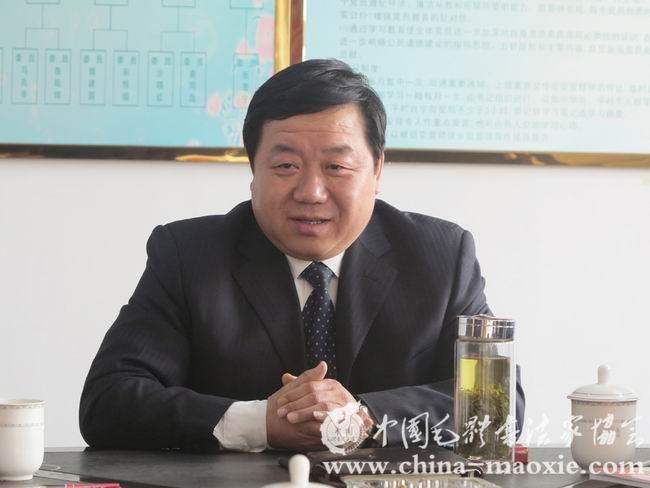 山东神力索具厂有限公司董事长兼总经理杜亚中讲话