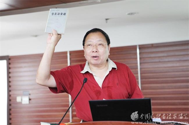 井冈红军人物研究分会副会长何继明(贵州省原省长李立之子),八路军